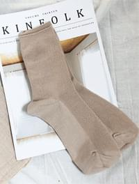 Beige Daily Sox