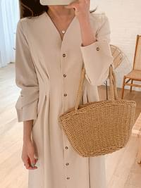 Wendy Linen Long Dress
