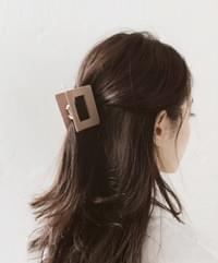Square Simple Hair Clip