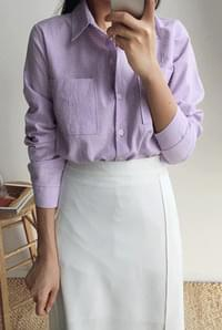 Two-pocket linen southern