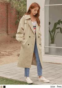 TWIG RAGLAN TRENCH COAT