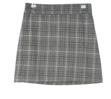 Max check banding skirt