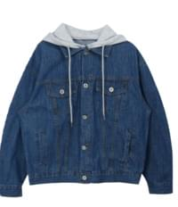 Didy Denim Hooded Jacket