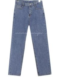 AMUE SEMI BAGGY DENIM PANTS