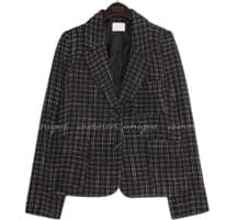 MAG TWEED WRAP BUTTON JACKET