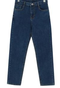 Basic Slim Date Denim Pants