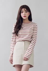 Unadorn striped knit