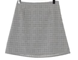 De Winning Check Skirt