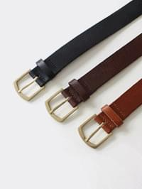 Chic leather belt