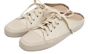 Canvas sneakers mule_K
