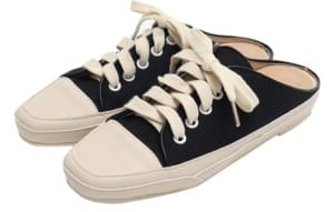 Canvas sneakers mule_K (size : 225,230,235,240,245,250)
