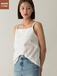 Square Neck Cotton Sleeveless