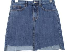 Denim skirt with Kanku
