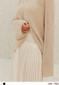 MIEL LAYERED PLEATS LONG OPS