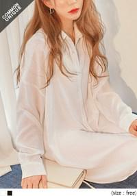 Basic Shirt Dress WITH CELEBRITY _ YEOM JUNG AH