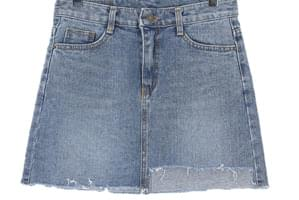 Key denim denim skirt