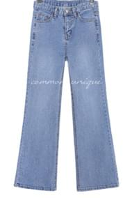 BRITT BOOTS CUT DENIM PANTS