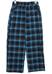 Eko Check Wide Banding Pants
