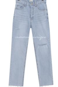 CLOW DAMAGE DENIM PANTS