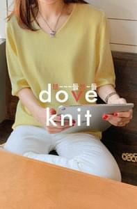 Dove Viscose Short Sleeve Knit