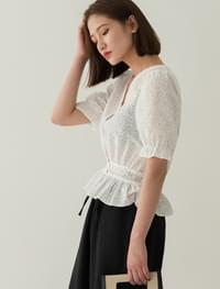 lovely punching blouse