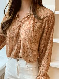 Chiffon Cindy Flower Blouse