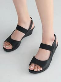 Fensia wedge sandals 4.5cm