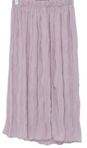 Wrinkle wave banding skirt_K (size : free)