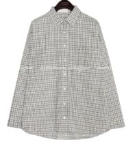 DENT CHECK LOOSE FIT SHIRTS