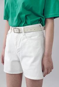 High-waisted cotton pants 3