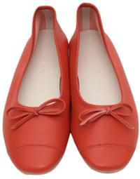 Stitch ribbon flat shoes_M (size : 230,235,240,245,250)