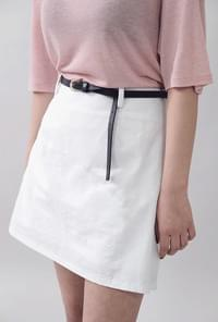 Ando O Cotton Skirt Belt set