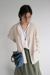 oriental mood robe jacket (beige)