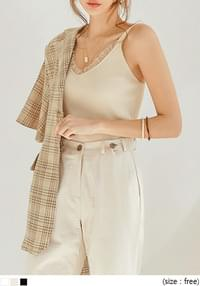 SWAIN GOLGI LACE KNIT SLEEVELESS
