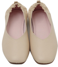 Back banding flat shoes_S