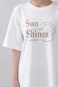 Sunshine Big Lettering T-shirt