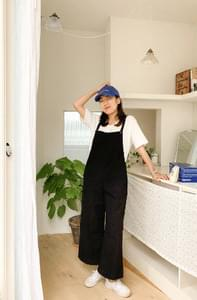 All-in-one linen jump suit