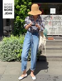 MORE JEAN_tapered fit
