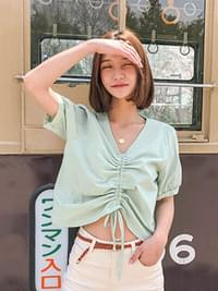 Shirring Ritz String Blouse