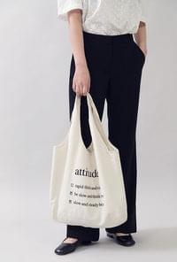Will Beper Lettering Eco Bag