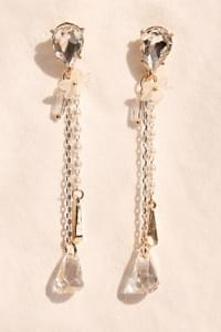 TELLING CRYSTAL DROP EARRING