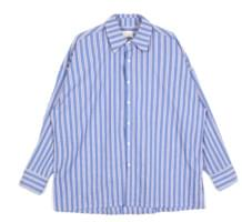 pastel stripe over shirts - men