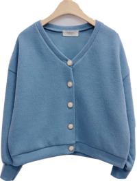 Made in-house ♥ Daily life V-knit cardigan