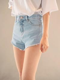 Need Unborn Denim Short Pants