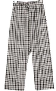 comfortable check pants