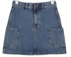cargo pocket mini skirt