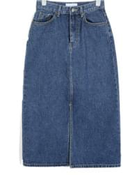 papper deep denim skirt スカート