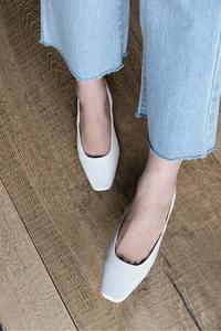 Becky Slingback Flat Shoes