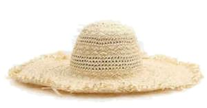 summer raffia straw hat