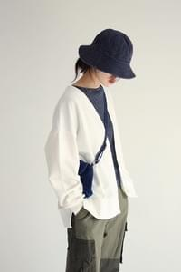 basic denim bucket-hat